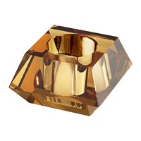 Swarovski Square Candle Holder Topaz