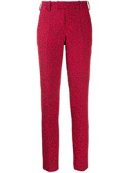 Zadig And Voltaire Slim Fit Trousers Red