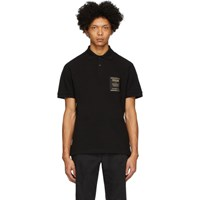 Versace Jeans Couture Black Warranty Patch Polo