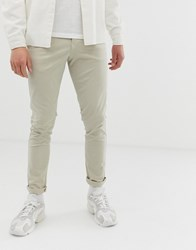 Selected Homme Skinny Fit Chino Cream