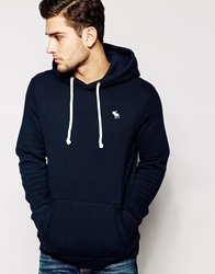 Abercrombie And Fitch Hoodie Navy