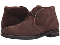 Aquatalia By Marvin K Carlos Rusty Brown Oiled Waxy Suede Men's Lace Up Boots