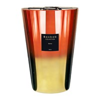 Baobab Disco Diana Scented Candle Limited Edition Orange Gold