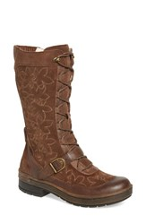 Jambu Women's 'Hawthorn' Embroidered Mid Calf Water Resistant Boot