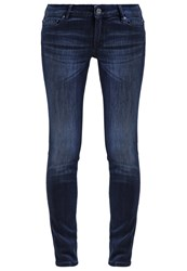 Boss Orange Slim Fit Jeans Navy Blue Denim