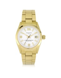 Forzieri Roger Mini Golden Stainless Steel Women's Watch