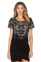 Lovers Friends X Revolve Daycation Crop Top Black