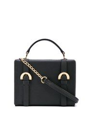 Zac Posen Biba Box Cross Body Bag Black