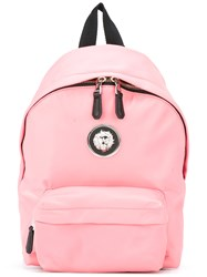 Versus Lion Head Backpack Pink Purple