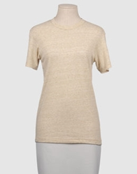Alternative Apparel Alternative Short Sleeve Sweaters Beige