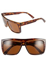 Electric Eyewear Women's Electric 'Black Top' 61Mm Flat Top Sunglasses Tortoise Bronze