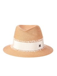Maison Michel Virginie Mini Straw Fedora