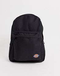 Dickies Arkville Backpack With Embriodered Logo In Black