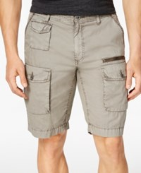 Inc International Concepts Men's Hampton Cargo Shorts Only At Macy's City Taupe
