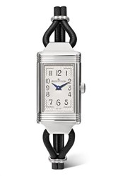 Jaeger Lecoultre Reverso One Cordonnet 16.3Mm Stainless Steel Silver