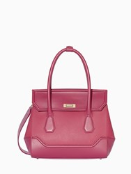 Modalu Hemingway Medium Tote Bag Raspberry