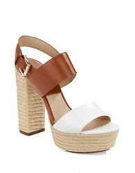 Michael Kors Summer Platform Sandals White
