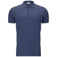 J. Lindeberg J.Lindeberg Men's Rubi Slim Fit Polo Shirt Washed Blue