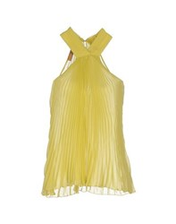 John Galliano Topwear Tops Women Yellow