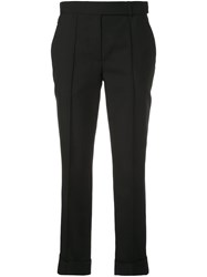 Vera Wang Slim Fit Trousers Black