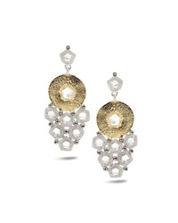 Coomi Opera Trickling Crystal And Diamond Earrings