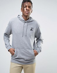 Poler Hoodie With Small Logo Grey