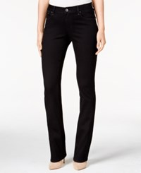 Lee Platinum Lainey Curvy Black Wash Bootcut Jeans