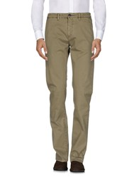 Hamptons Casual Pants Military Green