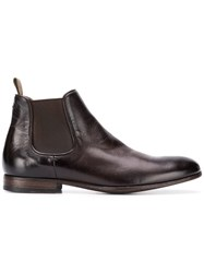 Pantanetti Elasticated Side Panel Boots Brown