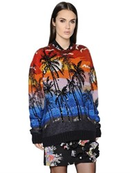 N 21 Embellished Wool And Mohair Sweater