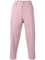 Oamc Combat Trousers Pink Purple