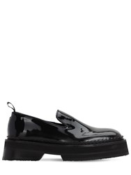Eytys Baccarat Platform Patent Leather Loafer Black