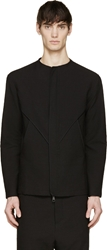 Alexandre Plokhov Black Seersucker Bound Jacket