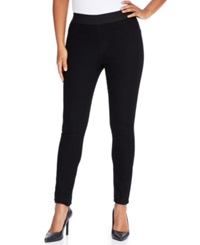 Karen Kane Skinny Denim Leggings Black