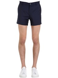 Berwich Slim Fit Cool Wool Shorts