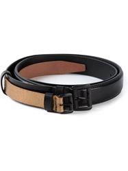 Ann Demeulemeester Double Layered Belt Black