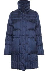 Fusalp Berenice Quilted Shell Down Coat Navy