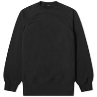 Engineered Garments Raglan Crew Sweat Black