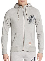Superdry Copper Beach Hoodie Grey