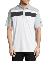 Callaway Colorblock Short Sleeve Polo Shirt High Rise