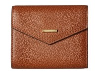 Lodis Stephanie Rfid Under Lock Key Lana French Purse Chestnut Wallet Handbags Brown