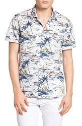 Lucky Brand Men's Aloha Print Shirt