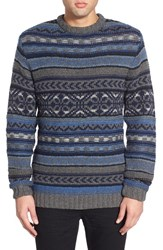 Men's Native Youth Fair Isle Jacquard Crewneck Sweater