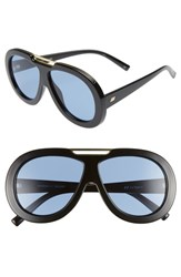 Le Specs Inferno 59Mm Aviator Sunglasses Black