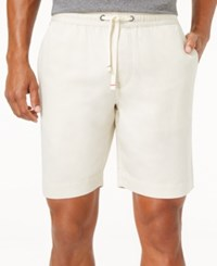Tommy Hilfiger Men's Cecil Drawstring Shorts Bone White
