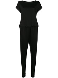 By Malene Birger Elasticated Waist Jumpsuit Black