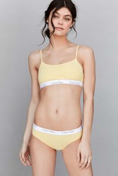 Calvin Klein One Cotton Bikini Yellow