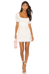 Lovers Friends Rickie Dress White