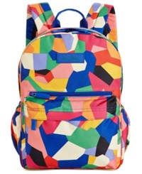 Vera Bradley Lighten Up Grande Laptop Backpack Pop Art