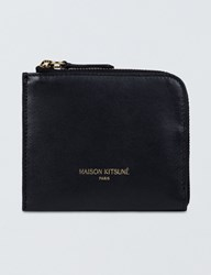 Maison Kitsune Leather Coin Purse